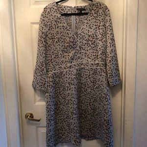 NWOT Banana Republic ditsy print dress